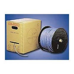Ziotek 1000ft. CAT5e Stranded Bulk Cable, White ZT1205340