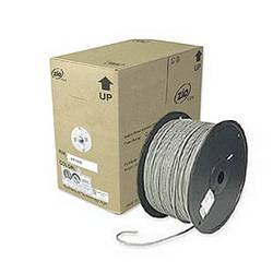 Ziotek 1000ft. CAT5e Solid Core Bulk Cable, Gray ZT1205345