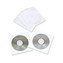 Ziotek CD Envelopes Window Paper Self-sealing 100 Pack ZT1511135