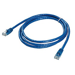Ziotek 5ft. CAT6 Patch Cable w/Boot, Blue ZT1195277