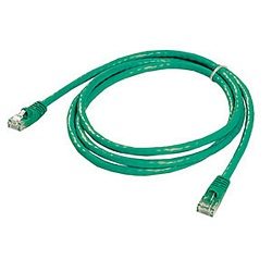 Ziotek 5ft. CAT6 Patch Cable w/Boot, Green ZT1195278
