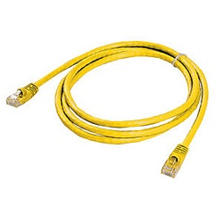 Ziotek 5ft. CAT6 Patch Cable w/Boot, Yellow ZT1195280