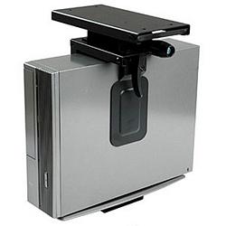 Ziotek Mini CPU Holder, Sliding/Rotating Under Desk Mount ZT1080153