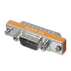 Ziotek Adapter Thin DB9 Male to DB25 Male ZT1310148