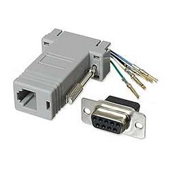Ziotek Modular Adapter DB9 F to RJ11 / RJ12 ZT1312000