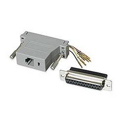 Ziotek Modular Adapter DB25 F to RJ11 / RJ12 ZT1312020